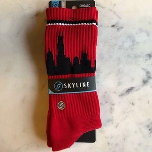 Skyline NWT Unisex Chicago Socks